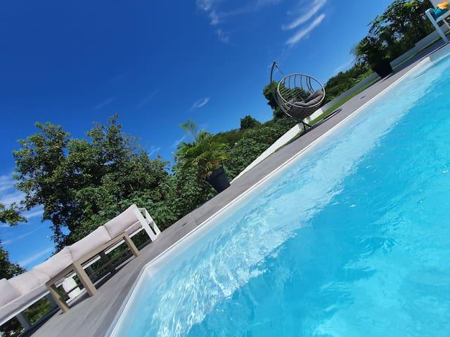 Villa 2 chambres + piscine