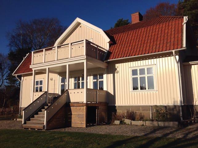Tjärnö gml prestegård. - Strømstad - Hus