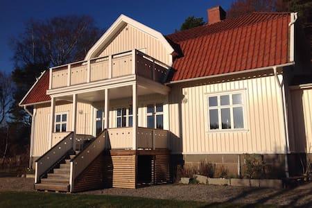 Tjärnö gml prestegård. - Strømstad - Huis