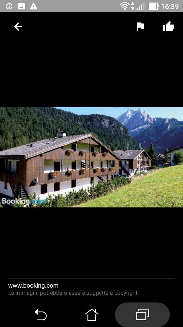 Appartamento in residence Casa Canazei