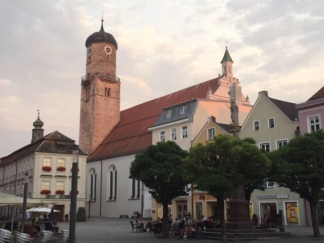 Gemütliches Übernachten im lieblichen Weilheim