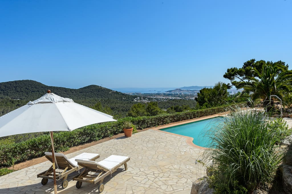 On top of ibiza villa with spectacular view villas for for Villas xanthe
