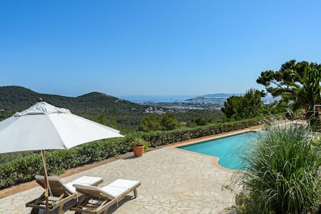 On top of Ibiza - Villa with spectacular view - Can Furnet