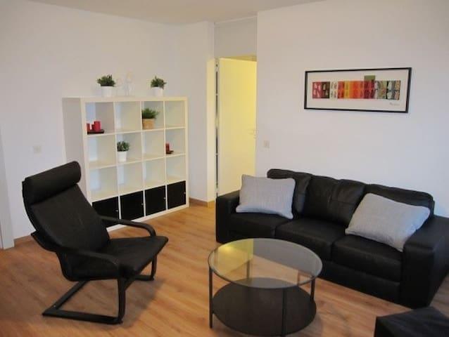 Möblierte 2.5 Zimmer Wohnung, zentral gelegen - Obersiggenthal - Lägenhet