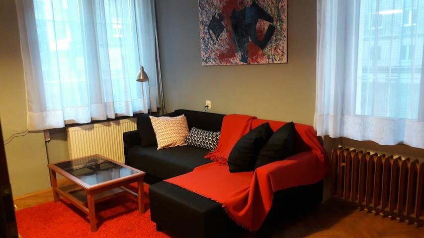 Cute and quiet room in Kazimierz area - Cracóvia - Apartamento