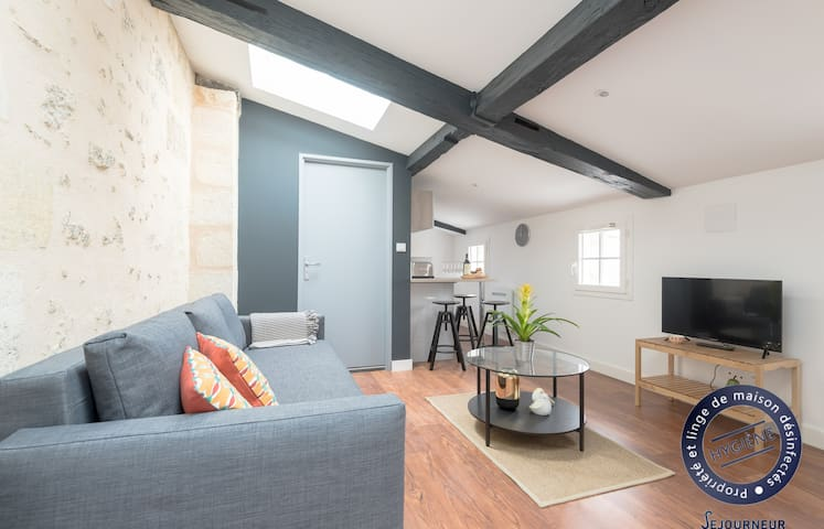 12.Cute studio completely renovated and bright