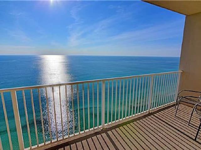 BEACH FRONT CONDO SLEEPS 6 PCB FL - Panama City Beach - Selveierleilighet