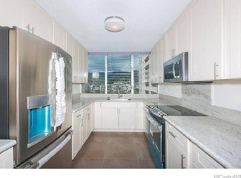 Brand new kitchen,