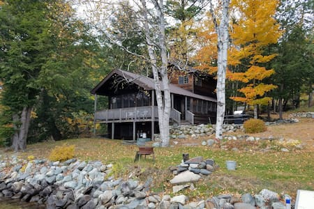 Beautiful home on Wyman Lake