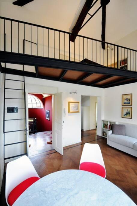 Casa Brenna Soggiorno