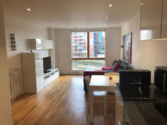 Toothbrush Apartments 1 Bed, Waterfront, Parking (2nd Flr)