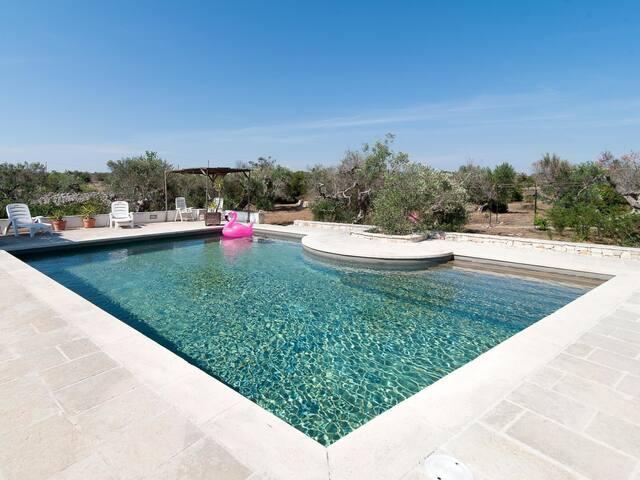 Ciampa Pool trullo