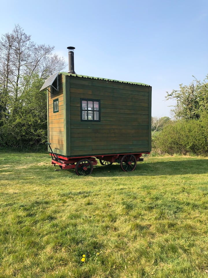 Unique Glamping Wagon at Mill House Farm