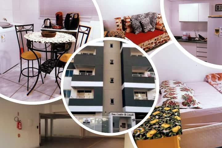 Apartamento na Vila Nova com garagem