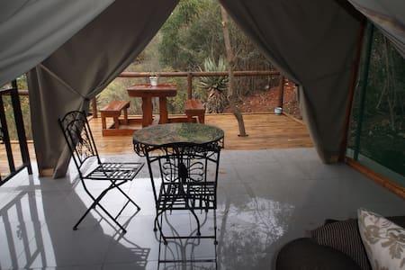 Luxury Safari Tent Mountain River View  @Old Mill