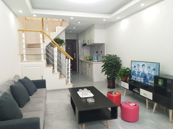 唐人中心loft时尚公寓(F)