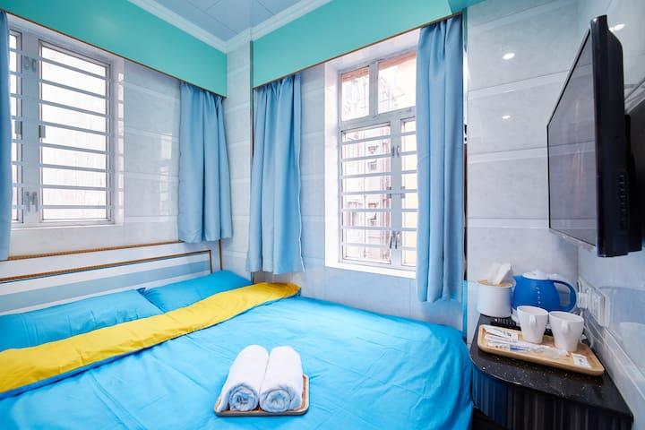 Mong Kok旺角西洋菜南街舒適2人房5102
