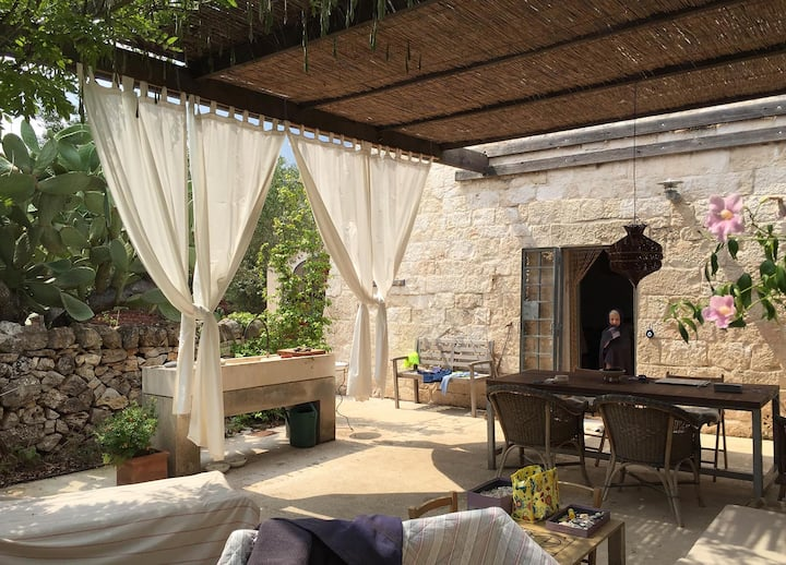 Small masseria, carefully renovated