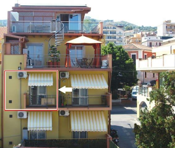Monolocale centrale,30metri dal mar - Santa Teresa di Riva - Apartment