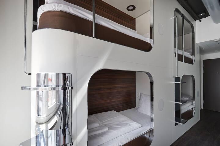 Coolest luxury hostel, Steel House Copenhagen!