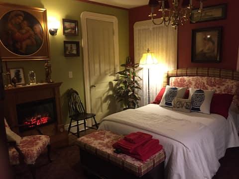 Sanctuary 1890 Red Room