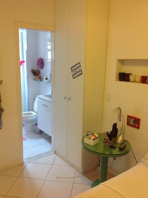 Banheiro - quarto principal