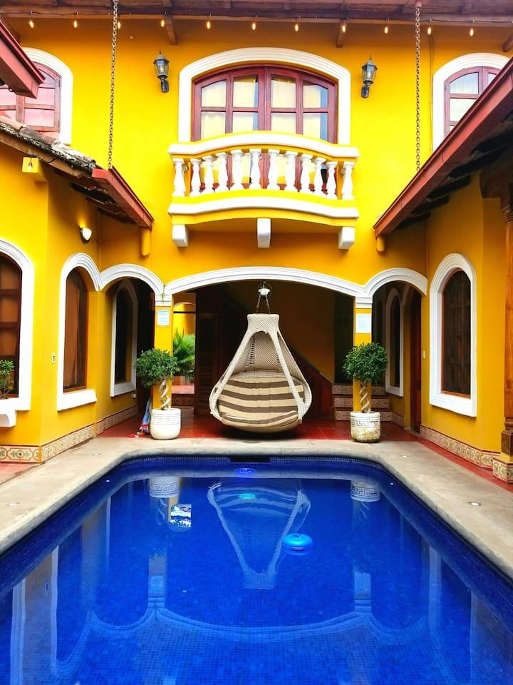 Casa del Agua, Loft room