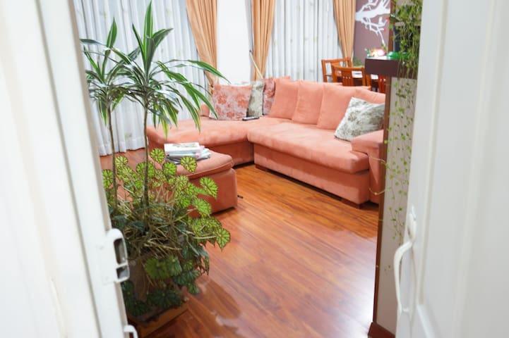 Confortable y acogedora Habitación