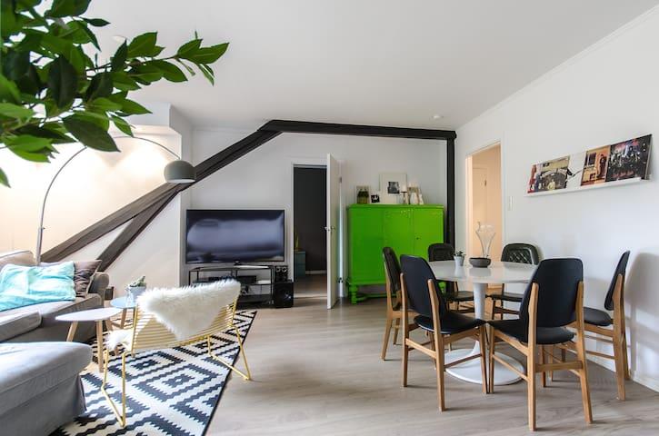*Central, lovely & spacious apt in Majorstua! - Oslo
