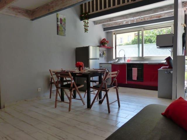 GRAND STUDIO MEZZANINE PROCHE PLAGE et MONACO - Roquebrune-Cap-Martin - Apartment