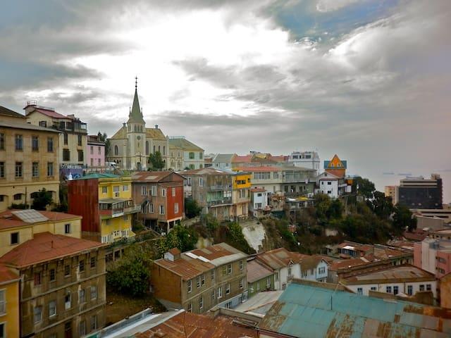 Valparaiso apartment downtown safe and comfortable - Valparaíso - Apartment