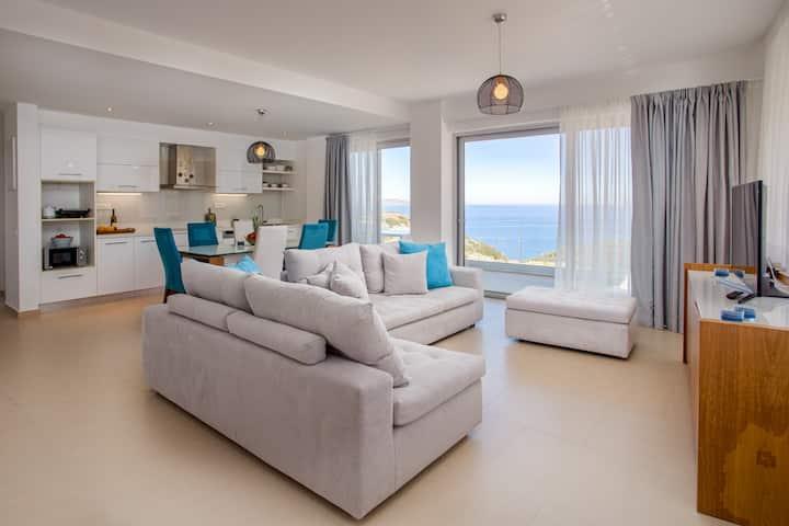 Luxury suite Thalia • amazing sea view near beach