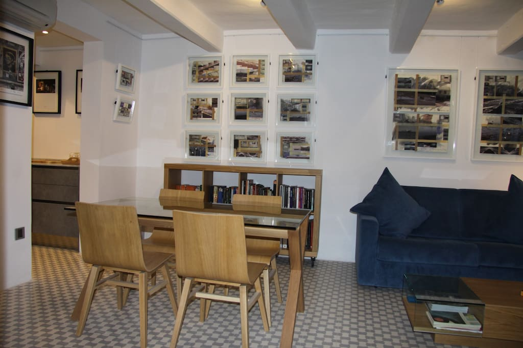 gallery living area