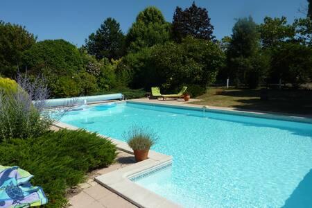 Jolie villa piscine jardin près plage la Rochelle - Châtelaillon-Plage