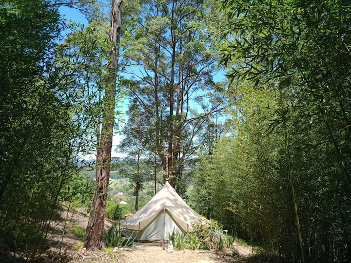 Glamping Getaway - The Safari Bell Tent