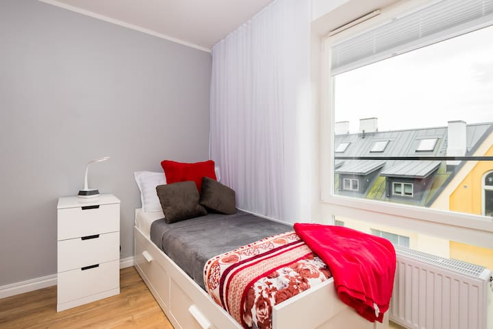 Centrally located studio in a luxury building