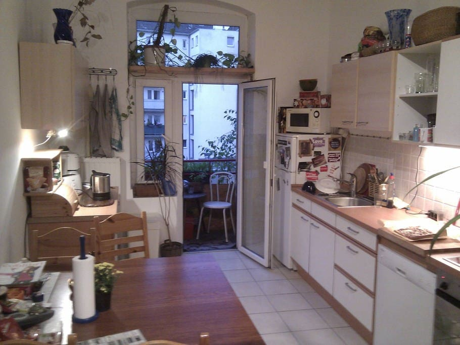 kitchen - balcony