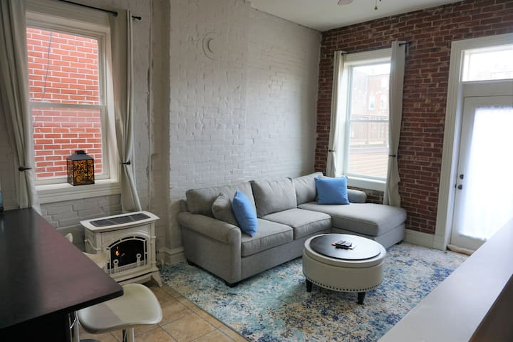 Historic Flat in the Heart of Soulard