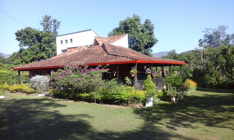 Cabaña Campestre+Piscina En Afueras De Piedecuesta - Piedecuesta