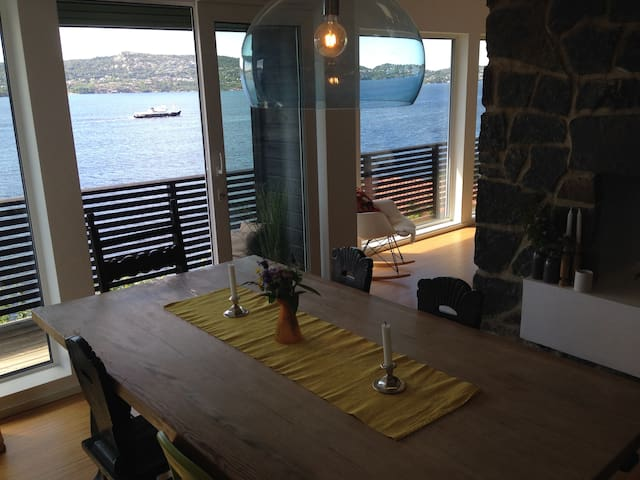 House with fab sea view for rent during bike-VM.