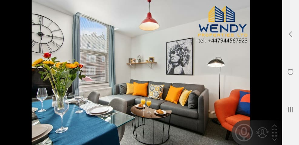 Beautiful apartment  in Hackney central