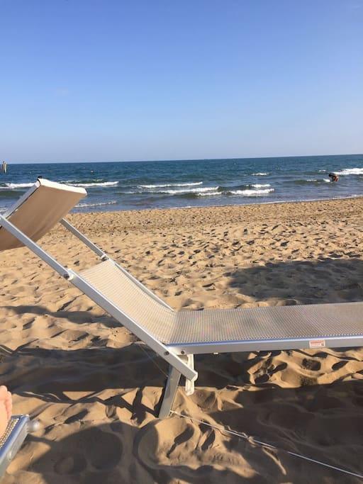 Spiaggia privata condominiale