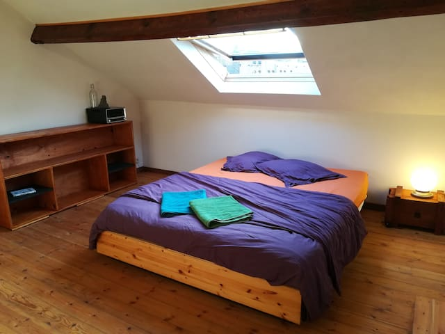 Appartement for 2 people, 20 min. walk to centre