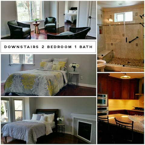 2 bedroom 1 bath Apartment w/kitchen close to DTLA - Montebello - Apartament