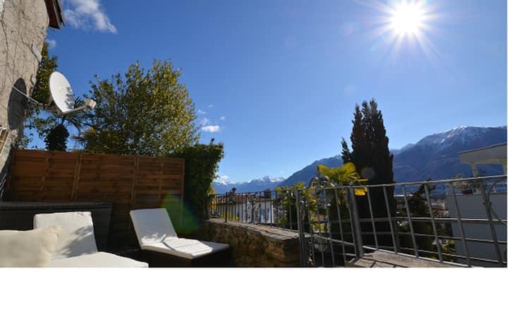 Reizendes Studio + Relax-Terrasse - Monte Verita