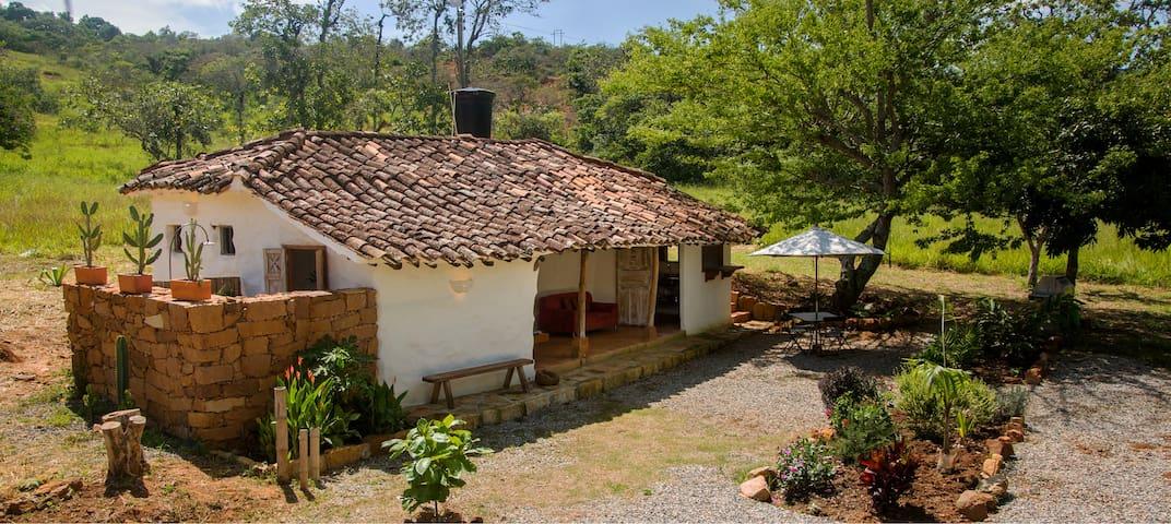 La Agustina, Cabaña restaurada en Barichara