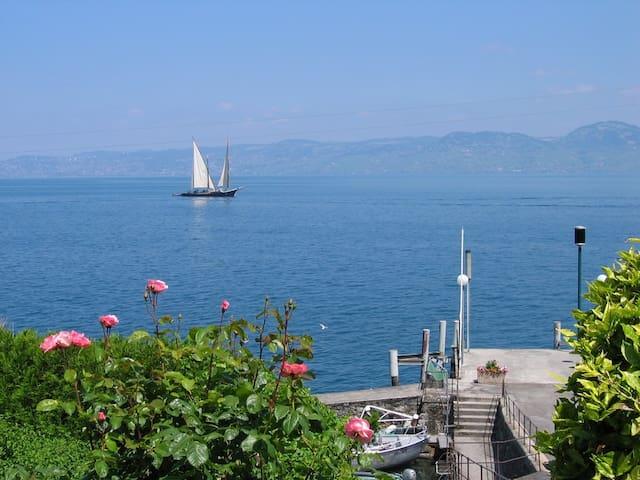 Balcon au dessus du lac Léman 72m²*** proche EVIAN - Meillerie