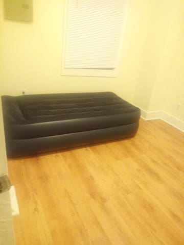 Airbed in spare room
