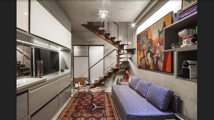 Loft Design Vila Olimpia/prédio sofisticado
