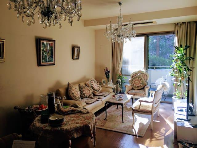 Master Bedroom 10 mins from Shibuya, $10 from NRT